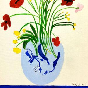 Betty M. Vase of Flowers 16 x 20_0860